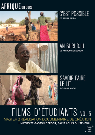 Films d'étudiants<br>Saint-Louis du Sénégal vol.5